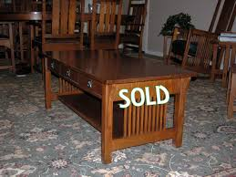usa made mission style oak dining room set amish mission round