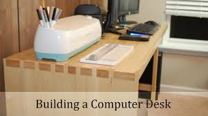Woodworking Computer Desk Woodworking Project Computer Desk