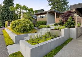 nice modern design landscape ideas for front yard without grass
