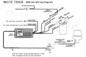 msd ignition wiring diagram chevy wiring diagram