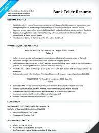 Sample Resume Investment Banking Sample Resume For Teller Sample Resume For Bank Teller Sample