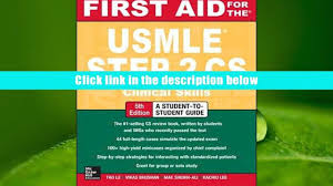 read online first aid for the usmle step 2 cs tao le for ipad