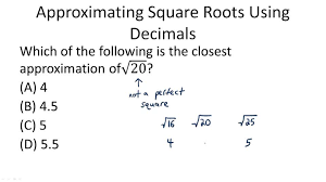perfect square roots video arithmetic ck 12 foundation
