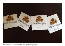 the grateful a thanksgiving day activity chai mommas