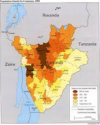 Rwanda Africa Map by Real Life Map Collection U2022 Mappery