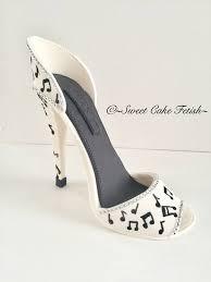 shoe cake topper gumpaste high heel shoe cake topper gumpaste shoe fondant shoe