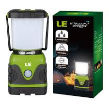 le better lighting experience le 1000lm dimmable portable led cing lantern 4 modes water