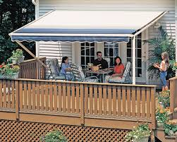 Backyard Awning Sunsetter Awnings Retractable Deck And Patio Awning