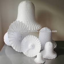 White Christmas Paper Decorations by White Christmas Paper Tissue Bells Paper Luxe Tissue Bell
