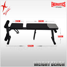 energetics home gym 7 levels adjustable weight bench sit up