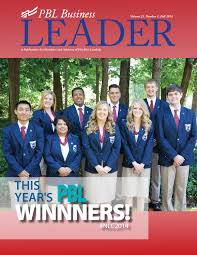 pbl business leader fall 2014 by fbla pbl inc issuu