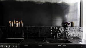 black kitchen backsplash 10 favorites black kitchen backsplashes remodelista