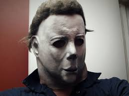 michael myers mask halloween rubie s costume michael myers the mask halloween full overhead