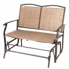 amazon com naturefun patio swing glider bench chair garden