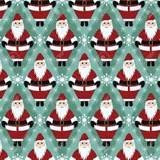 wrapping paper for christmas christmas santa gift wrapping paper royalty free cliparts vectors
