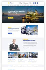 Industrial Theme by Offshore Industrial Business Responsive Wordpress Theme 64988