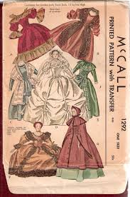 doll design book mccall 1292 vintage sewing patterns fandom powered by wikia