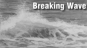 how to draw breaking waves u2014 online art lessons