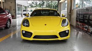 porsche cayman yellow spotted porsche cayman s u0026 classic carrera