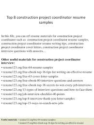 construction project manager resume samples free unforgettable
