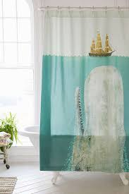terry fan the whale shower curtain outfitters