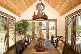 rustic dining room lighting ideas decorin