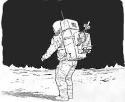 astronaut sketch image mag