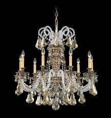 Swarovski Crystal Home Decor Schonbek 6309 Isabelle Collection Chandelier Crystal Traditional