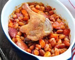 cuisiner un cassoulet recette cassoulet de viandes porc canard agneau en cocotte