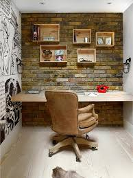Restoration Hardware Office Desk Rustic Home Office With Wide Plank Floors Mural Zillow Digs