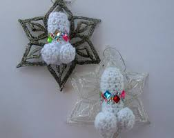 novelty ornaments etsy
