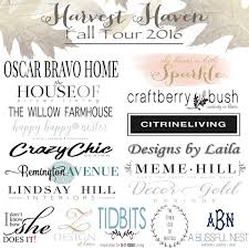 oscar bravo home harvest haven fall tour 2016