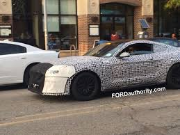 spied 2018 ford mustang gt in michigan ford authority