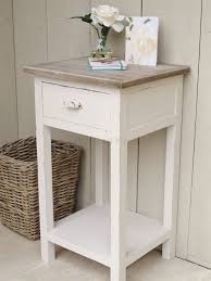 Small Side Tables by Bedroom Furniture White And Oak Bedside Table Furniture Bedside