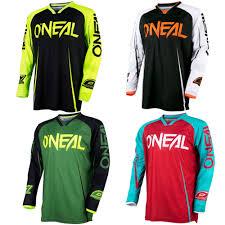 o neal motocross gear 2017 new o u0027neal enduro jeresy downhill jersey mtb offroad long