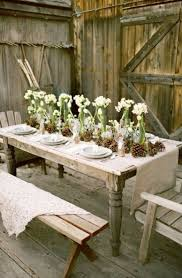 rustic table setting ideas different christmas table setting ideas elegant women s club