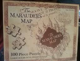 Harry Potter Map Universal Studios Wizarding World Of Harry Potter Park Marauders