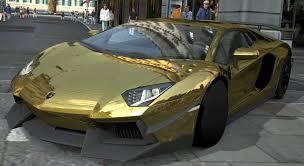 gold chrome lamborghini aventador lamborghini aventador lp700 4 gold chrome gran turismo 5 72593