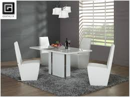 White Kitchen Table And Chairs by Kitchen Contemporary Round Kitchen Table And Chairs Image Of