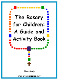 rosary for kids rosary for children a guide and activity book