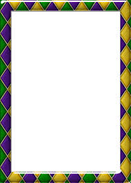 mardi gras picture frame free 5x7 harlequin pattern 1 mardi gras frame by redheadfalcon on