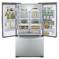 Stainless Steel Refrigerator French Door Bottom Freezer - french door refrigerator kenmore kenmore 70413 27 6 cu ft french