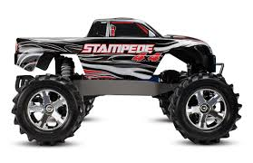 nitro rc monster trucks amazon com traxxas stampede 4x4 1 10 scale 4wd monster truck