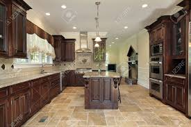 kitchen cherry wood cabinets kitchen for splendid brown