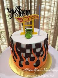 hot wheels cake toppers shu yin s sanctuary shern s hotwheels 7th birthday cake