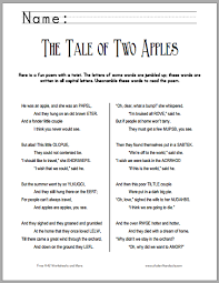 the tale of two apples