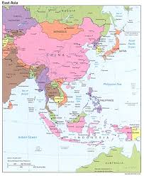 Map Of Se Asia by East Asia U0027s Geography Through The 5 Themes 6 Essential Elements