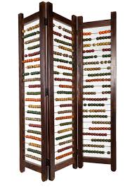 Nexxt By Linea Sotto Room Divider Like For Room Or Play Area Abacus Room Divider For The