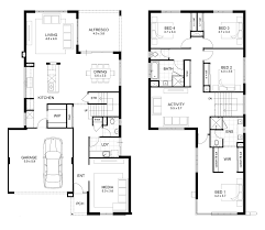 Double Story Floor Plans 14m Wide House Designs Perth Single And Double Storey Apg Homes
