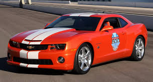 2010 camaro pace car for sale chevy to offer 500 exles of 2010 camaro indy 500 pace car replica